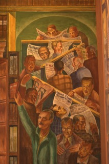 Coit Tower Mural - Library