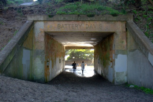 Battery Davis at Fort Funston