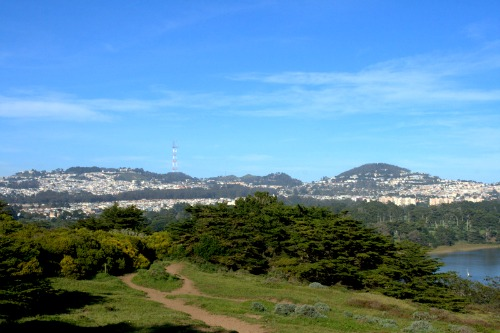 view from Fort Funston