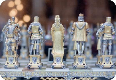 San Francisco Chinatown Shopping - Chess Set