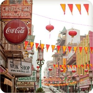 Chinatown, San Francisco - Street View