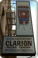 Chinatown, San Francisco - Clarion Music Store