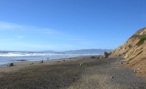 View of Fort Funston Beach