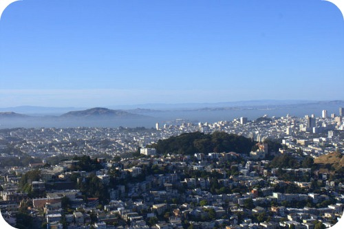 Twin Peaks San Francisco Northeast View